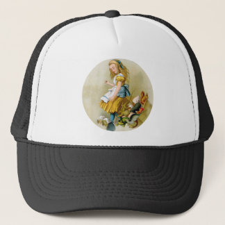 Alice Tips Over Jury Box In Knave of Hearts Trial Trucker Hat