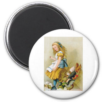 ALICE TIPS OVER THE JURY BOX MAGNET