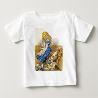 Alice Tips the Jury Box at  Knave of Hearts Trial Baby T-Shirt