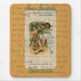 Alice: Twinkle, Twinkle, said the Hatter Mouse Pad