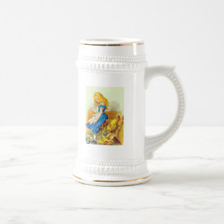 Alice Upsets the Jury Box Color Beer Stein
