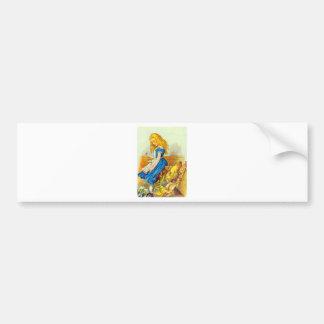 Alice Upsets the Jury Box Color Bumper Sticker