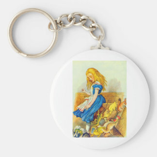 Alice Upsets the Jury Box Color Keychain