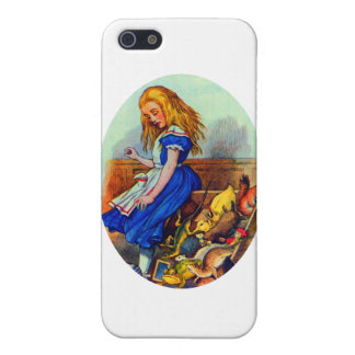 Alice Upsets the Jury Box Cover For iPhone SE/5/5s