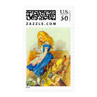 Alice Upsets the Jury Box in Full Color Postage