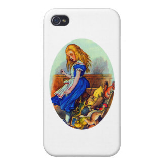 Alice Upsets the Jury Box iPhone 4 Covers