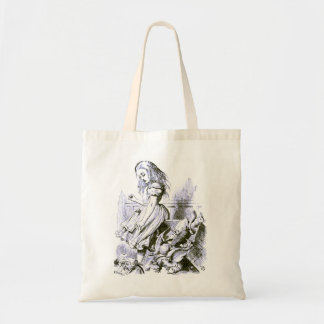 Alice Upsets the Jury Box Tote Bag