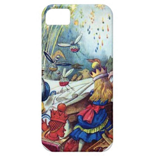 Alice Upsets the Table iPhone SE/5/5s Case