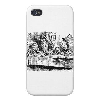 Alice White Rabbit Tea Party iPhone 4 Cover
