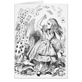 Alice with Cards