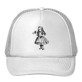 "Alice with ""Drink Me"" Bottle Trucker Hat"