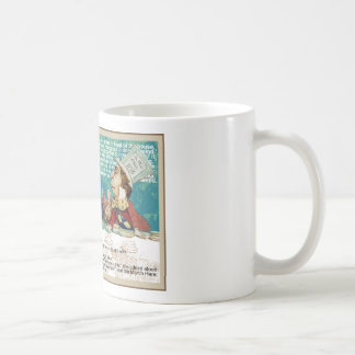 Alice with Mad Hatter and March Hare Coffee Mug
