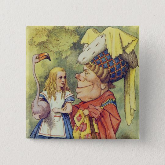 Alice with the Duchess Pinback Button