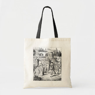 Alice with the Red Queen Tote Bag