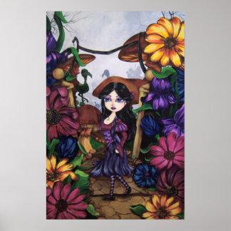 """ALICE"" Wonderland Fantasy Art Print"