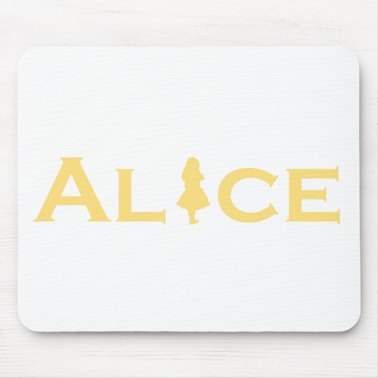 Alice Word Play Mouse Pad