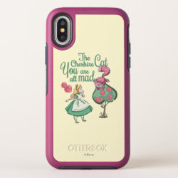 Alice | You Are All Mad OtterBox Symmetry iPhone X Case