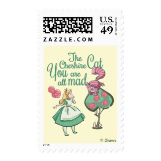 Alice | You Are All Mad Postage