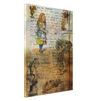 Alice's Adventures Canvas Print