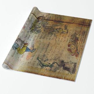 Alice's Adventures Gift Wrap Paper