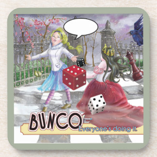 Alice's Adventures in Bunco Coaster