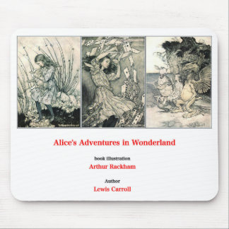 Alice's Adventures in Wonderland and Arthur Mouse Pad