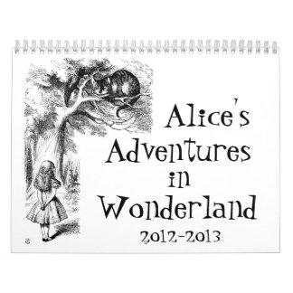 Alice's Adventures in Wonderland Calendar