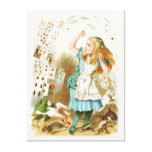 Alice's Adventures in Wonderland Stretched Canvas Print