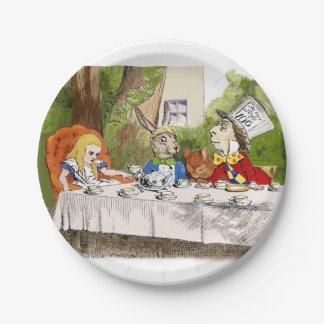 Alice's Adventures in Wonderland Paper Plate