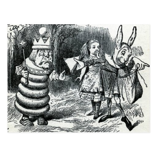 Alice's Adventures in Wonderland Post Card