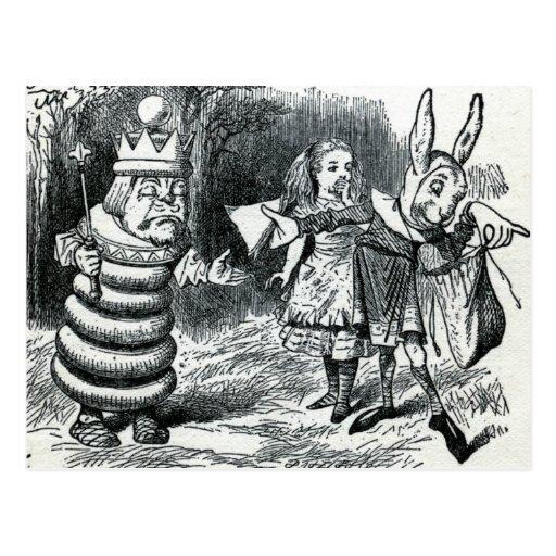 Alice's Adventures in Wonderland Postcard