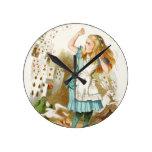 Alice's Adventures in Wonderland Wallclock