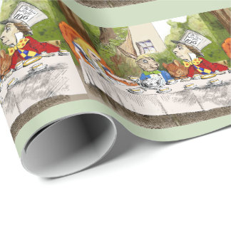 Alice's Adventures in Wonderland Wrapping Paper