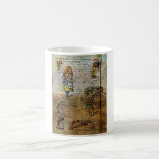 Alice's Adventures Classic White Coffee Mug