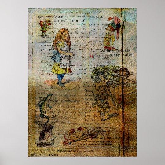 Alice's Adventures Poster