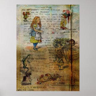 Alice's Adventures Print