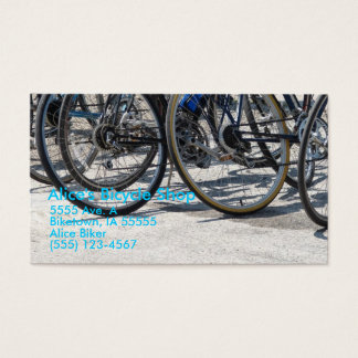 Alice's Bicycle Shop Business Card