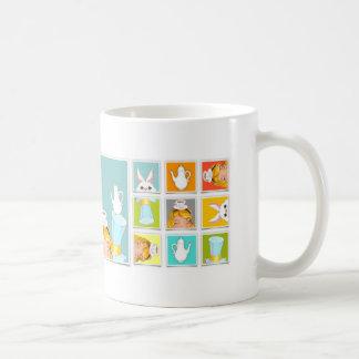 Alice's Block Tea Party Coffee Mug