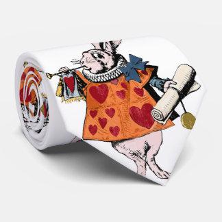 Alice's of the country of wonder rabbit tie