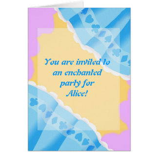 Alice's party card