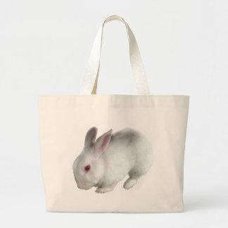 Alice's rabbit large tote bag