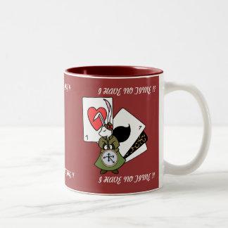 ALICE'S RABBIT Two-Tone COFFEE MUG