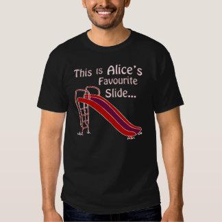 Alice's Slide Shirt