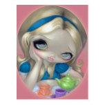 """Alice's Tea Party"" Postcard"