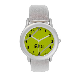 Alice's Tennis Time Watch