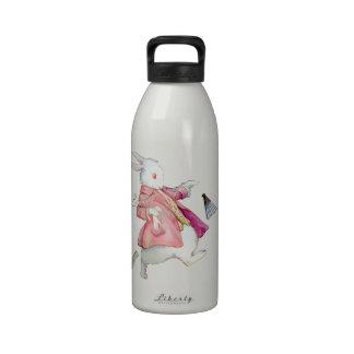 Alice's White Rabbit in Wonderland Drinking Bottles