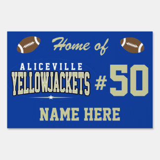 Aliceville High School; Yellowjackets Yard Sign