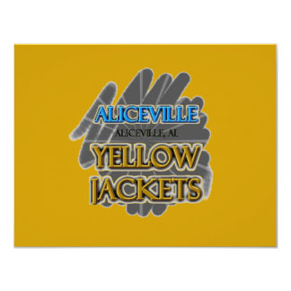 Aliceville Yellow Jackets - Aliceville, AL Card