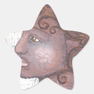 Alicia 001.jpg pegatina en forma de estrella