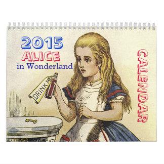 Alicia 2015 en calendario del país de las